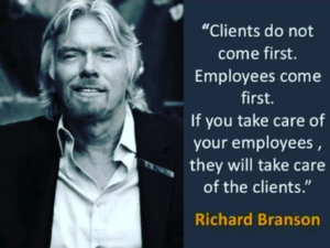 employees come first