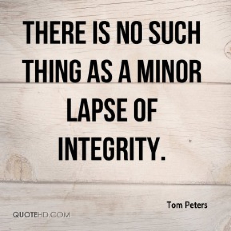 the Integrity Gone