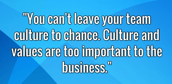Creating a Great Culture