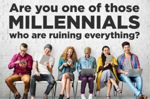 problem with millennials
