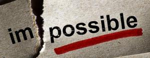 Setting Unobtainable Goals
